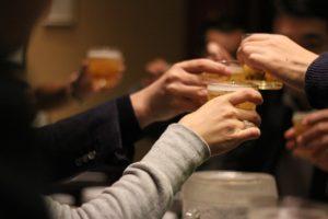 友達や同僚やお客さんとの飲み会