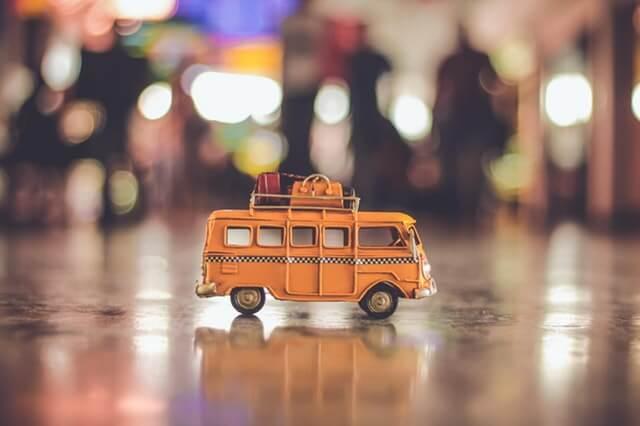 バス停のようす