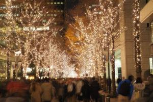 年末年始の東京のイルミネーション