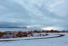アメリカ生活モンタナ州初雪